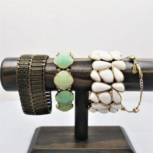 Four Stretch Bracelets Including Seasonal Whispers
